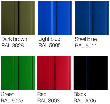steel finishes available