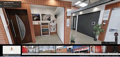 Google View - Express Garage Doors Ltd